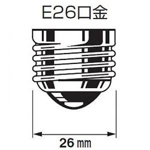 【お買い得25個セット】アサヒ バイブラランプ T38 100V20W 口金E26 レッド バイブラT38E26100V-20W(R)トウメイゾメ_25set