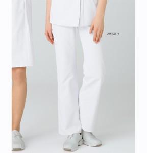 uqw2029 ルコックスポルティフ ストレッチ セミブーツカットパンツ 女性用(白衣 医療用白衣 看護師用 ナース lecoqsportif ピンク