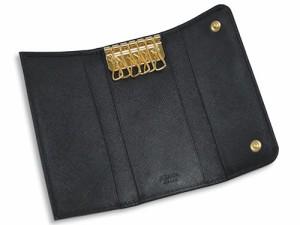プラダ キーケース PRADA 6連キーケース ロング サッフィアノ GLロゴ NERO ネロ カーフブラック 1M0223 アウトレット