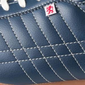 パトリック シュリー レザースニーカー メンズ レディース ウィメンズ インディゴ ネイビー 日本製 PATRICK SULLY IDG 26502 靴