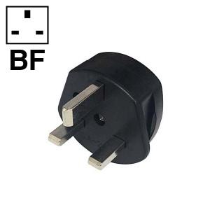 OHM 海外用電源形状変換プラグ BFタイプ 海外旅行に… TRA-A0849BF 01-0849 オーム電機