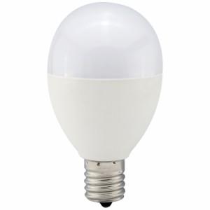 LED電球 ミニクリプトン形 E17 60W形相当 昼光色 広配光 密閉器具 断熱材施工器具対応 LDA7D-G-E17 IH9 06-0766 オーム電機