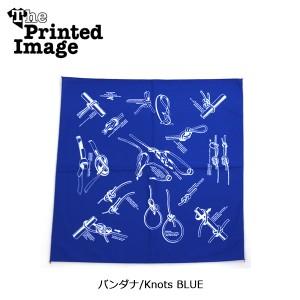 The Printed Image/ザ・プリンテッドイメージ  バンダナ/Knots BLUE