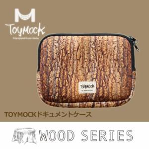 Toy Mock/トイモック ドキュメントケース ウッド  アウトドア キャンプ バーベキュー リラックス