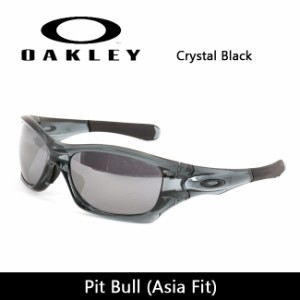 OAKLEY/オークリー サングラス Pit Bull ピットブル (Asia Fit) Crystal Black oo9161-02 【雑貨】【サングラス】日本正規品 スポーツ マ