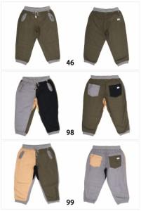 ジムマスター gym master 綿麻リブクロップドパンツ G743343 【服】 パンツ クロップドパンツ 短丈 くるぶし丈