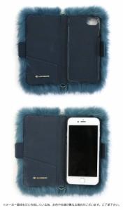 アコモデ iphone7ケース Accommode モンスターファーiPhoneケース ファー iphone6 ケース iphone6s 手帳型 カード収納 手帳 カバー