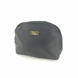buy online 0847f 2af54 ディオール オム Dior Homme ポーチ 化粧ポーチ メンズ可 ロゴプレート 【中古】 Q128|au Wowma!(ワウマ)