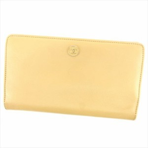 7ce37d72b2e6 シャネル CHANEL 長財布 財布 小物 サイフ 財布 小物 ファスナー付き レディース メンズ 可 ココボタン