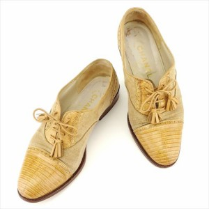 738d0930a993 シャネル CHANEL パンプス シューズ 靴 レディース オックスフォード 【中古】 T7007