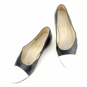 86deef5e1200 シャネル CHANEL パンプス シューズ 靴 レディース バイカラー 【中古】 T7018