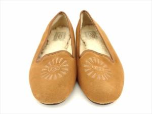75610dbbc62186 アグ UGG パンプス シューズ 靴 レディース ♯23 ロゴ人気 セール 【中古】 A1853
