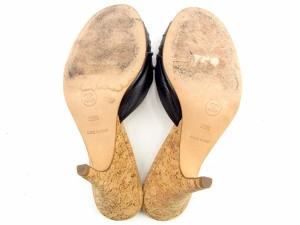 2bb961e42f2d シャネル CHANEL ミュール シューズ シューズ 靴 レディース ロゴプレート 【中古】 Y7306