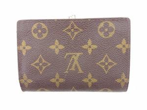 ルイヴィトン Louis Vuitton 財布 二つ折り財布 モノグラム レディース メンズ 中古 T542