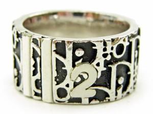 ディオール Dior 指輪 リング レディース メンズ 可 トロッター人気 セール【中古】 S654