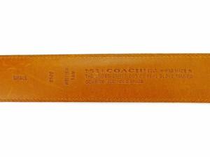 9e341acb83201f コーチ COACH ベルト ♯SMALL レディース ゴールドバックル 【中古】 H569