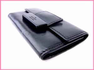 グッチ GUCCI キーケース 6連キーケース メンズ可 人気 良品【中古】 Y1274