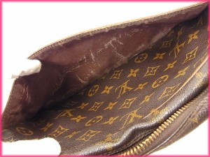 ルイヴィトン Louis Vuitton セカンドバッグ クラッチバッグ メンズ可 コンピエーニュ28 モノグラム人気 セール【中古】 Y3115