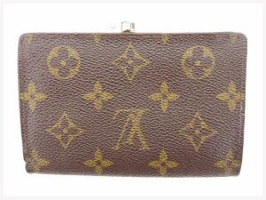 ルイヴィトン Louis Vuitton 財布 がま口財布 モノグラム レディース メンズ 中古 T1439