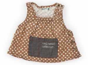 7eaeb1a2db4b6  ラグマート RagMart タンクトップ・キャミソール 70サイズ 女の子 USED子供服