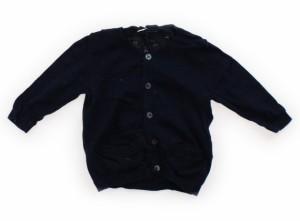 【無印良品/MUJI】カーディガン 80サイズ 女の子【USED子供服・ベビー服】(329760)