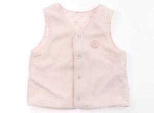 ccc5eae8c856b  べべ BeBe ベビーベスト 80サイズ 女の子 USED子供服・ベビー服