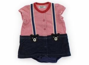 86dfc06af9d05  ダブルB DoubleB カバーオール 70サイズ 女の子 USED子供服・ベビー服