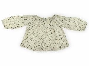 65c0ab1effb76  べべ BeBe シャツ・ブラウス 90サイズ 女の子 USED子供服・