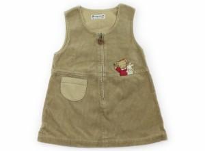 ff06ba863fbd1  ファミリア familiar ジャンパースカート 100サイズ 女の子 USED子供服・ベビー服