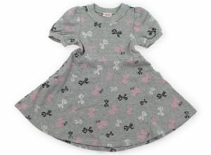 c800ac4af876b  メゾピアノ mezzopiano ワンピース 130サイズ 女の子 USED子供服・ベビー服