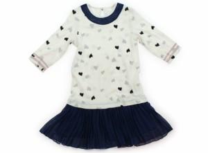 71b3398fcf9ea  ハッカ HAKKA ワンピース 130サイズ 女の子 USED子供服・ベビー服
