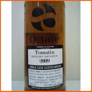 トマーティン 6年 2009 オクタブ (ダンカンテイラー) 53.9度 700ml【あす着対応】