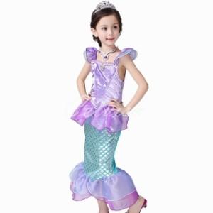 8ec63f5d6c5cc 送料無料 リトルマーメイド アリエル風人魚姫 プリンセスドレス 子供 ドレス ディズニー 衣装 C-28546060 Celvish