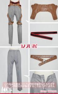 【コスプレ問屋】刀剣乱舞(とうらぶ)★ソハヤノツルキ☆コスプレ衣装 [2505]