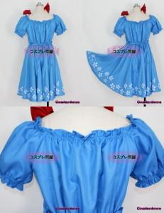 【コスプレ問屋】Axis Powers ヘタリア(APH)★セーシェル☆コスプレ衣装