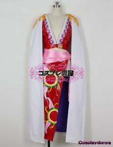 【コスプレ問屋】ONE PIECE(ワンピース・OP・ワンピ)★ボア・ハンコック☆コスプレ衣装
