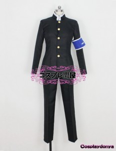 【コスプレ問屋】めだかボックス★球磨川禊(くまがわみそぎ) 男子制服☆コスプレ衣装