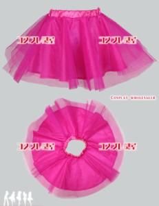 【コスプレ問屋】オーダーパニエ 34cm Sサイズ ピンク☆コスプレ衣装【送料無料】