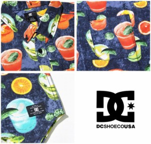DC SHOES ディーシーシューズ 半袖 シャツ メンズ 大きいサイズ ロゴ スケーター ストリート系 ファッション