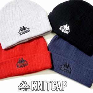 fa06c2bbbb4a9b Kappa カッパ ニットキャップ ニット帽 メンズ レディース ロゴ ストリート系 ヒップホップ ファッション 304KRV0 帽子