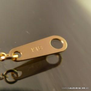K18金 2面喜平ネックレス幅1.2mm45cm2.5g引輪造幣局検定P035【品質保証】【ホワイトデー】【32400円以上で送料無料】