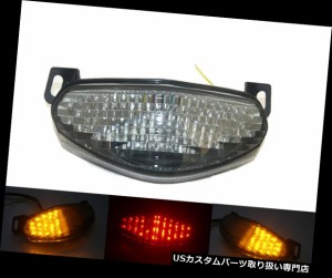 Smoke LED Tail Light Turn Signals For Kawasaki 2009-2011 ER-6n ER-6f Ninja 650R