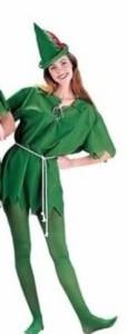 【ELEEJE】ハロウィン コスプレ 大人用 ピーターパン 衣装 演劇 クリスマス コスチューム タイツ 付き (女性用)