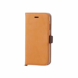 ELECOM iPhone 6s/6 対応 ケース 手帳型 ソフトレザーカバー 磁石タイプ キャメル PM-A15PLFYBRL