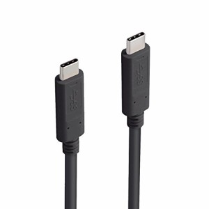 エレコム USB Type Cケーブル タイプC (C-C) USB3.1正規認証品(Gen1) 2.0m ブラック MPA-CC13A20NBK