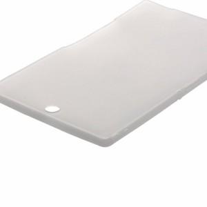 ELECOM SONY Xperia Z3 Tablet Compact シリコンケース クリア TB-SOZ3ASCCR