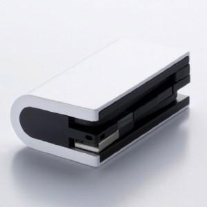 """モバイルバッテリー """"ROUND ラウンド"""" UCMB-RD1ZS (White・白) 2600mAh"""