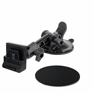 Movaics(モバイクス)ユピテル(YUPITERU) YERA・drive navi・ポータブルナビ用  車載用 取付スタンド(OP-CU100kit代用品)ゲル吸盤ロングタ