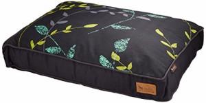 ルークラン ラグジュアリーベッド「P.L.A.Y」 ペット用ベッド レクトベッド(長方形型) Sサイズ グリナリー ダークグレー