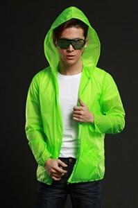 【エレクトリック EX】光るブラインドサングラス 緑